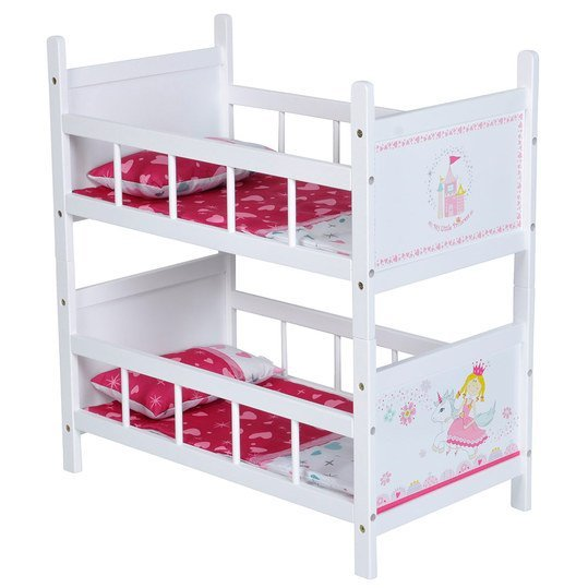 knorrtoys puppen etagenbett my little princess wei. Black Bedroom Furniture Sets. Home Design Ideas