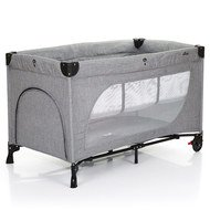 Reisebett Moonlight Set - Woven-Grey (Circle-Line)