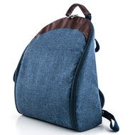 Wickelrucksack Backpack - Indigo Blue Melange