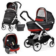 Kinderwagen-Set Book Plus 51 XL Completo Modular Gestell Weiß - Synergy