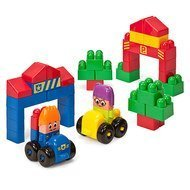 Bausteine Super Blocks Set City 1 - 40 Stück