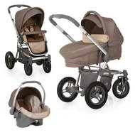 Kinderwagen-Set King Air Trio Set - Sand