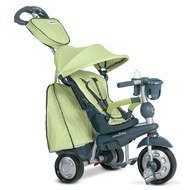 Dreirad Explorer 5 in 1 mit Touch Steering - Green