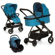 Kinderwagen-Set Acrobat XL Plus Trioset - Diamond Sapphire