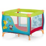 Reisebett & Laufgitter Sleep n Play SQ - 90 x 90 cm - Jungle Fun