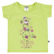 T-Shirt Basic Line - Girls - Limone