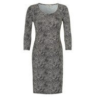 Kleid Ivory - Charcoal