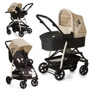 Kinderwagen-Set Rapid 4 Plus Trio Set - Disney - Mickey Charcoal