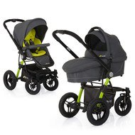 Kombi-Kinderwagen King Air Duo Set - Lime