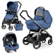Kinderwagen-Set Book Plus S XL Sportivo Modular Gestell Jet / Anthrazit - Mod Bluette