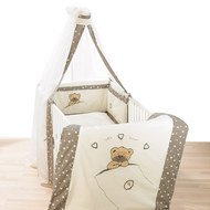Bettwäsche-Set Little Bear - Beige