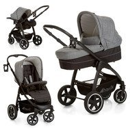 Kinderwagen-Set Soul Plus Trio Set - Melange Grey Caviar