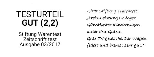 Stiftung Warentest Gut (2,2)