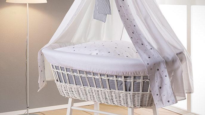 Decken Für Stubenwagen : My sweet baby stubenwagen mit haube bär mit schleife lila