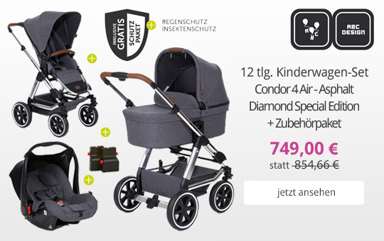 Hauck Kinderwagen-Set Rapid 4 Trio Set