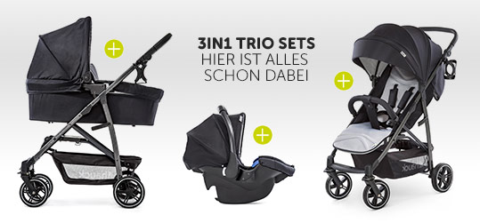 Hauck 3in1 Kinderwagen Trio Sets