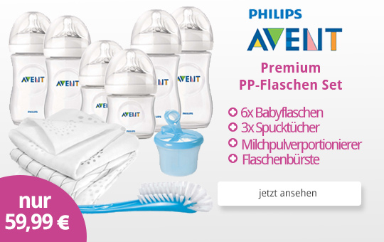 Philips Avent Premium PP-Flaschen Set 11tlg.
