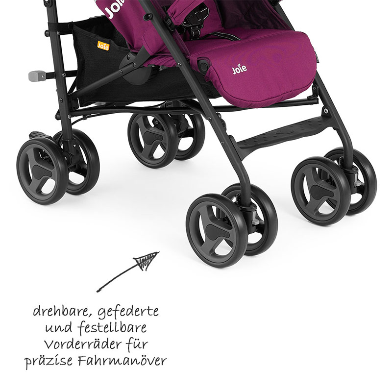 joie buggy kinderwagen nitro lx mulberry mit. Black Bedroom Furniture Sets. Home Design Ideas