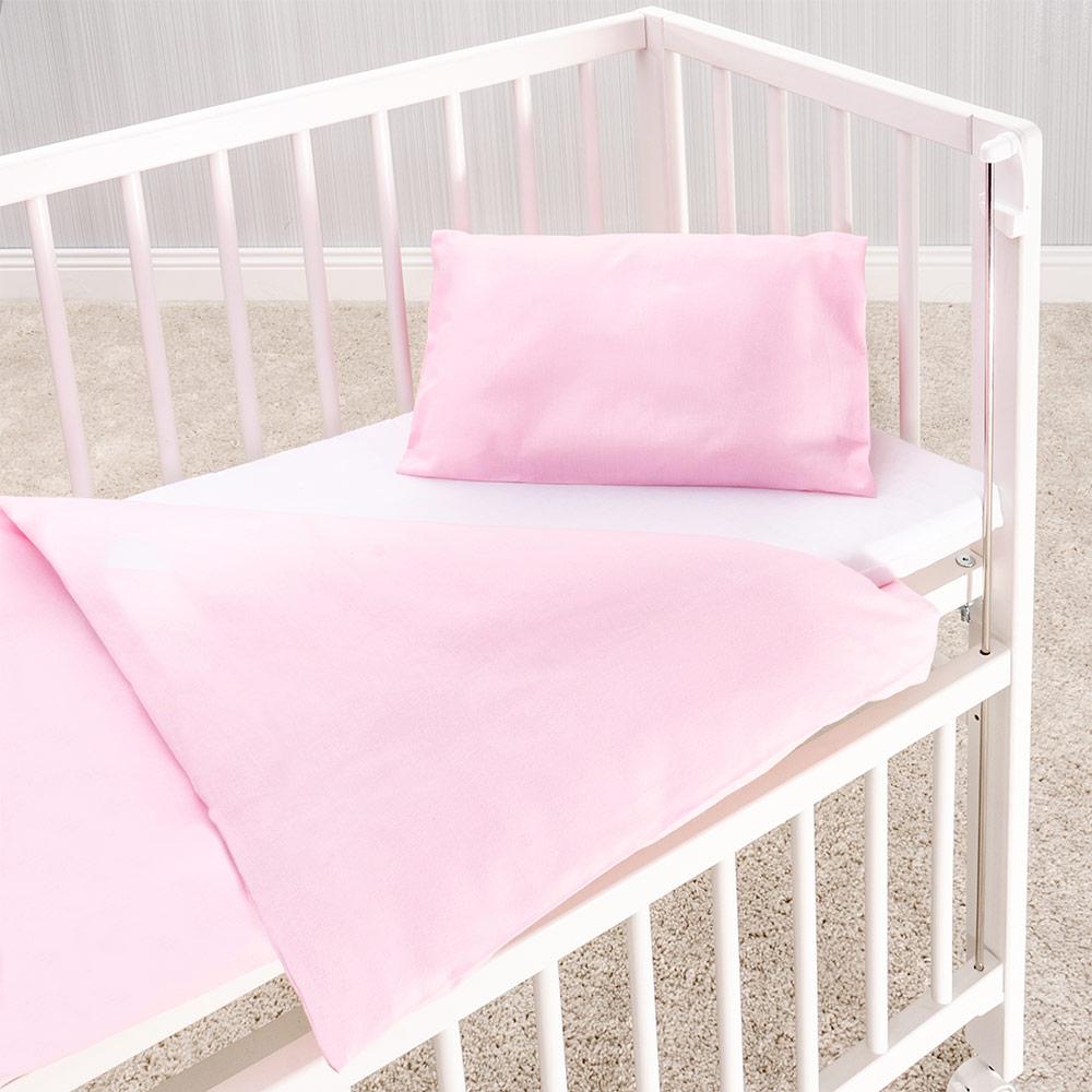 makian baby bettw sche 80 x 80 cm kinderwagen stubenwagen 100 baumwolle rosa ebay. Black Bedroom Furniture Sets. Home Design Ideas