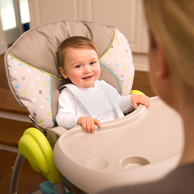 hauck hochstuhl kinderhochstuhl babyliege kombi stuhl sit n relax multi dots 4007923665275 ebay. Black Bedroom Furniture Sets. Home Design Ideas