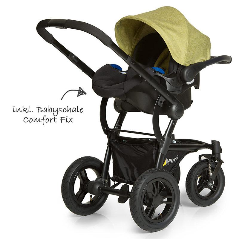 hauck kombi kinderwagen set 3in1 king air plus trio mit. Black Bedroom Furniture Sets. Home Design Ideas