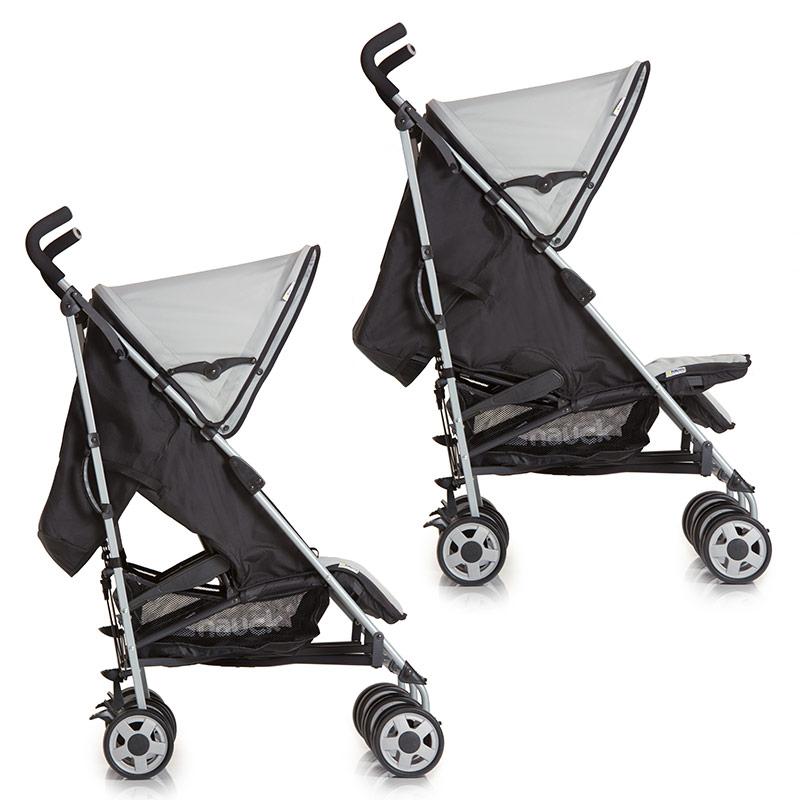hauck geschwisterwagen zwillingskinderwagen buggy turbo duo sehr leicht neu ebay. Black Bedroom Furniture Sets. Home Design Ideas