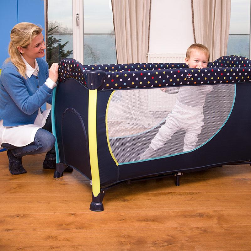 hauck reisebett baby kinder set sleep 39 n play center ii multi dots zubeh r 4007923600573 ebay. Black Bedroom Furniture Sets. Home Design Ideas