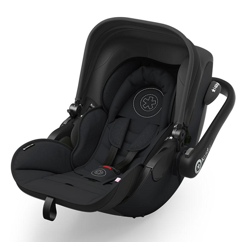 kiddy babyschale kindersitz evoluna schwarz i size 0 13. Black Bedroom Furniture Sets. Home Design Ideas