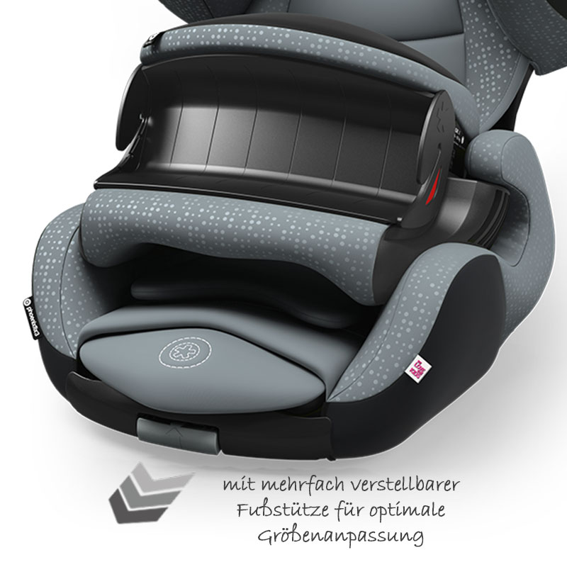kiddy kindersitz phoenixfix 3 autositz 9 18 kg isofix kinder gruppe 1 grau 4009749351547 ebay. Black Bedroom Furniture Sets. Home Design Ideas