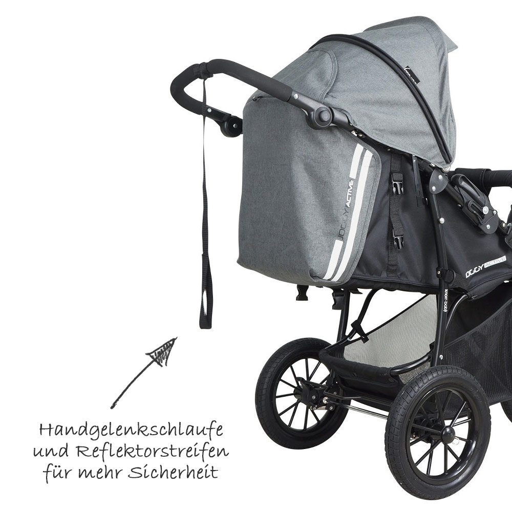 knorr baby sportwagen buggy kinderwagen joggy active. Black Bedroom Furniture Sets. Home Design Ideas