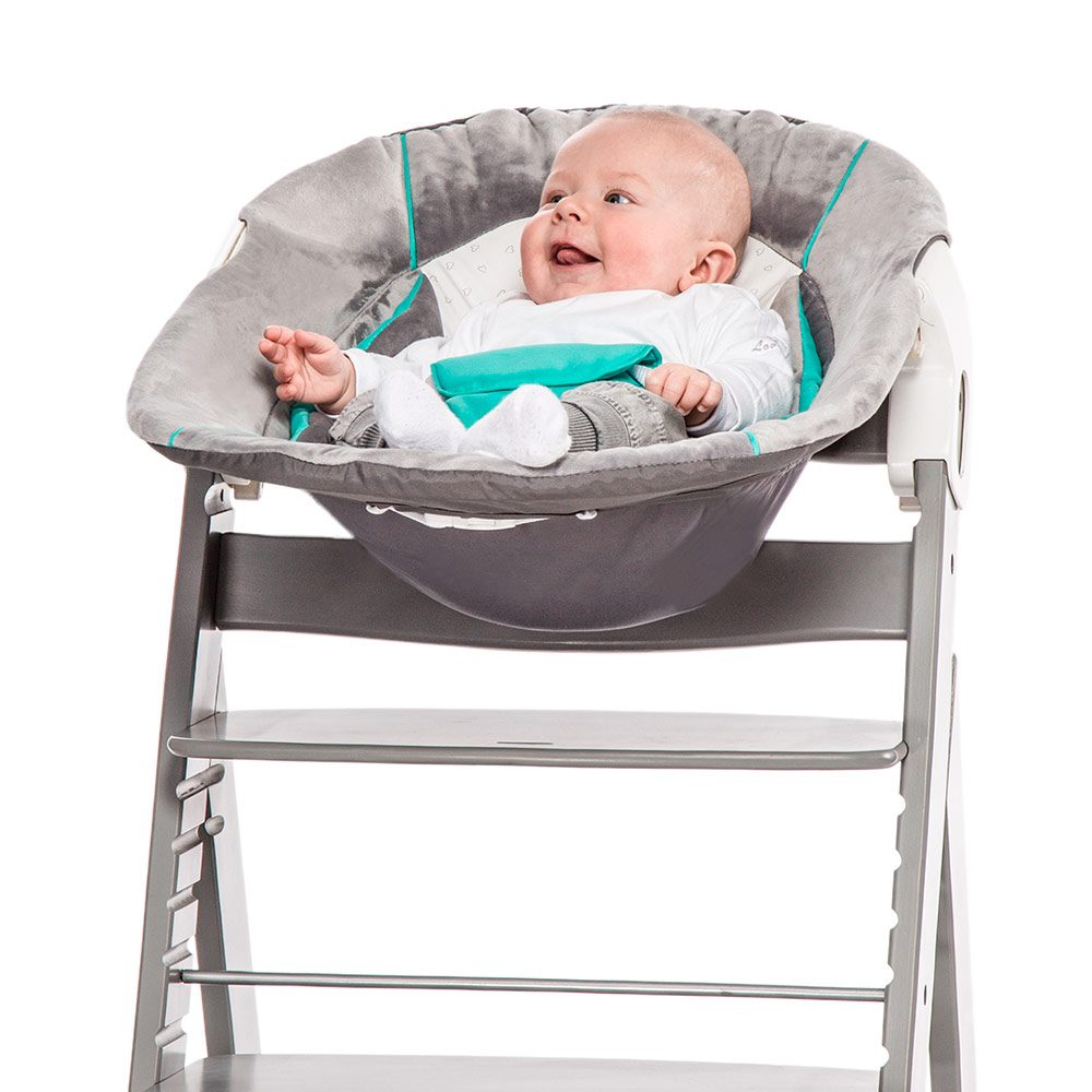 hauck neugeborenen aufsatz wippe f r hochstuhl alpha bouncer 2in1 hearts ebay. Black Bedroom Furniture Sets. Home Design Ideas