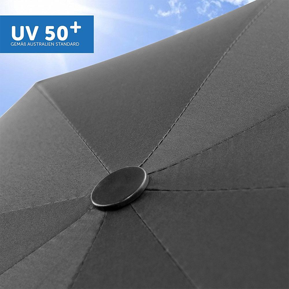 Schwarz Universal Sonnenschirm Sonnenschutz Kinderwagen /& Buggy UV-Schutz 50