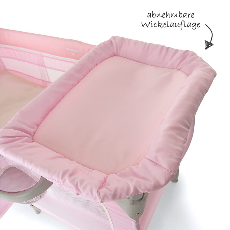 hauck baby reisebett babycenter birdie grey. Black Bedroom Furniture Sets. Home Design Ideas