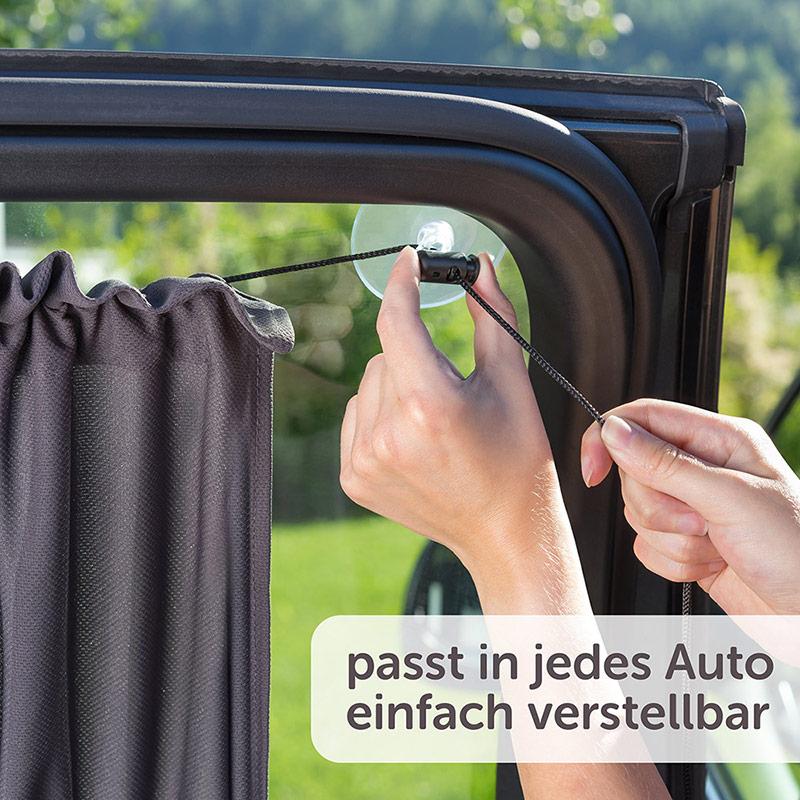 Vorhang Sichtschutz Kinder /& Baby Retractable Sonnenschutz Auto Seitenscheibe
