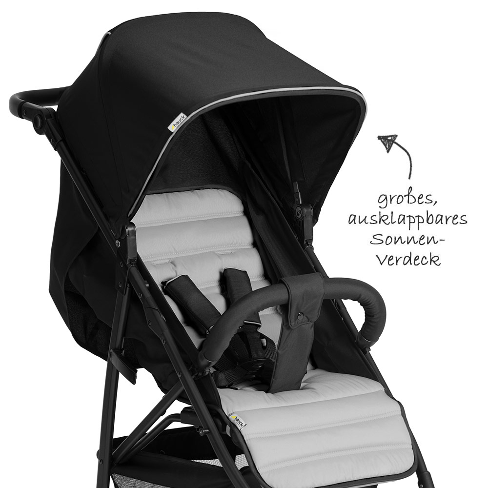 hauck buggy rapid 4 einhand faltsystem bis 22 kg. Black Bedroom Furniture Sets. Home Design Ideas
