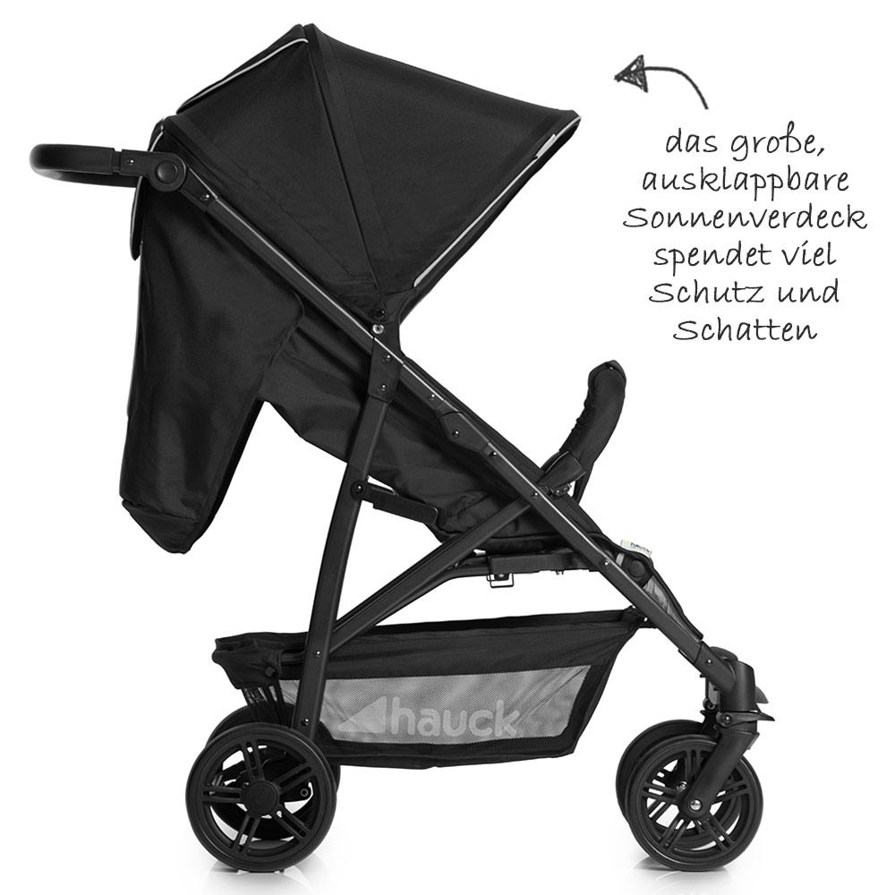 hauck kombi kinderwagen set 3in1 rapid 4 inkl maxi. Black Bedroom Furniture Sets. Home Design Ideas