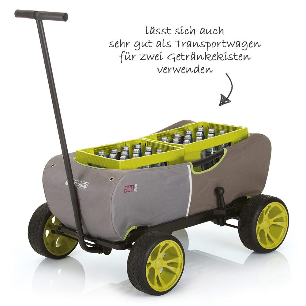 hauck eco mobil kinder bollerwagen handwagen. Black Bedroom Furniture Sets. Home Design Ideas