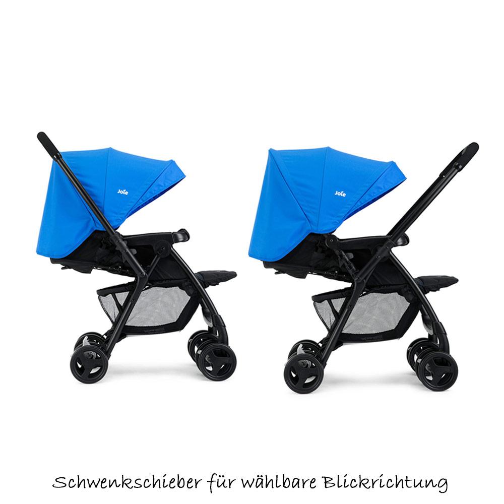 joie buggy sportwagen kinderwagen mirus bluebird blau mit schwenkschieber ebay. Black Bedroom Furniture Sets. Home Design Ideas