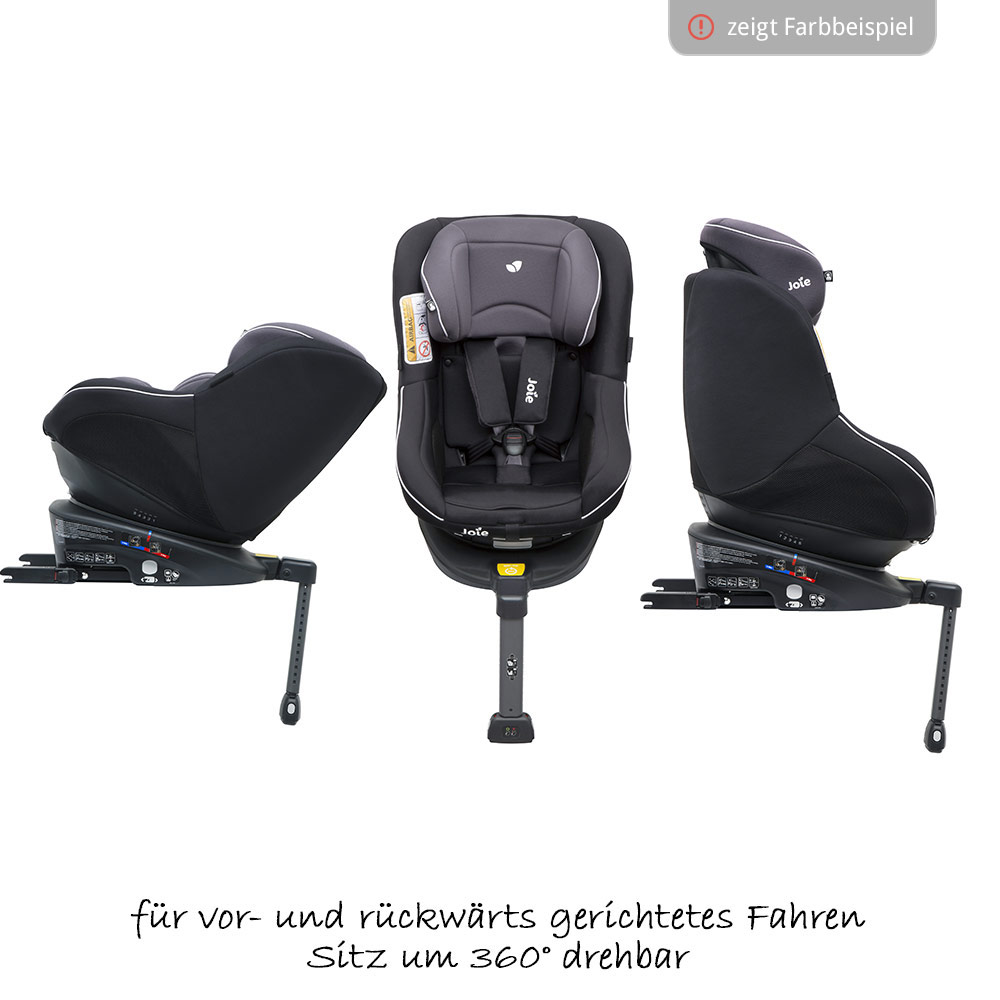 joie reboarder autositz kindersitz spin 360 gr 0 1 0 18. Black Bedroom Furniture Sets. Home Design Ideas