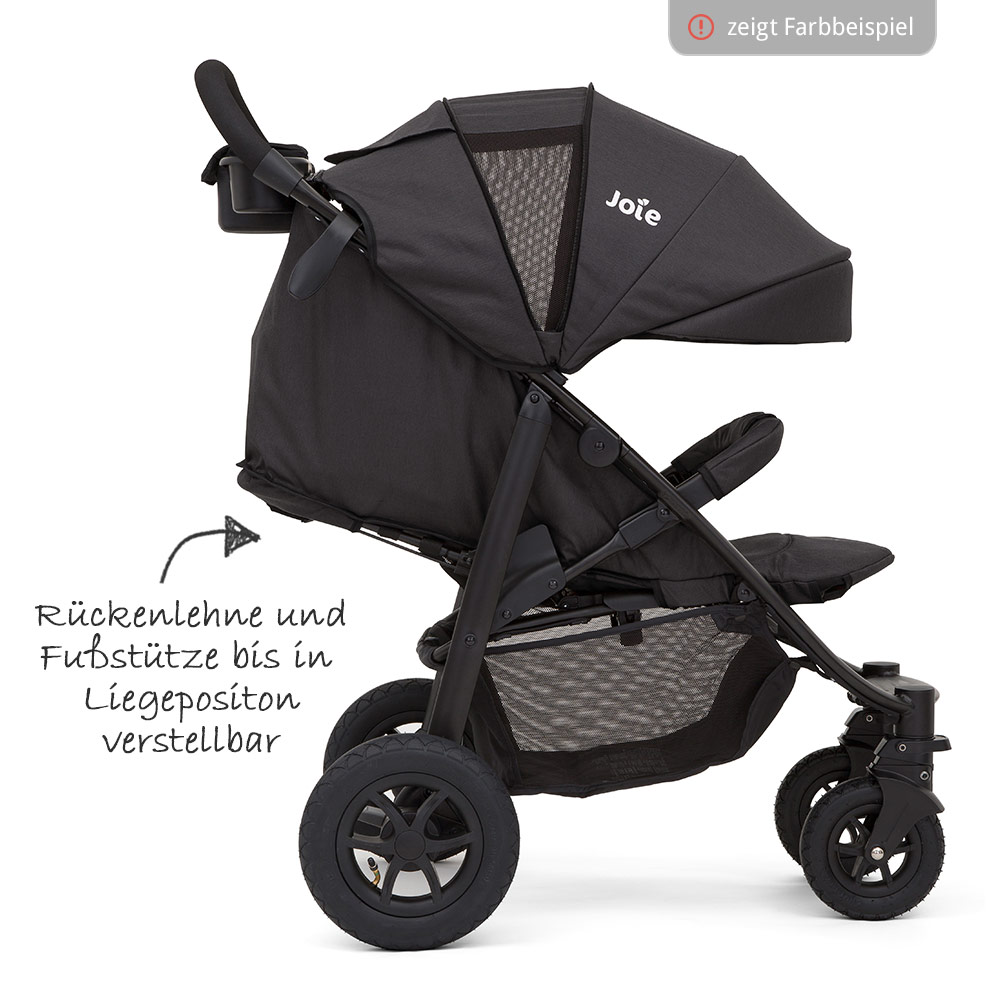 joie buggy sportwagen kinderwagen litetrax 4 air inkl regenschutz chromium ebay. Black Bedroom Furniture Sets. Home Design Ideas