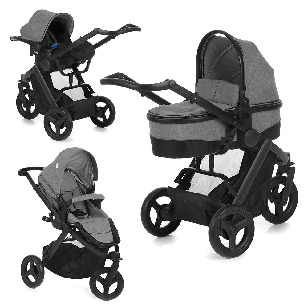 hauck kombi kinderwagen set 3in1 maxan 3 plus inkl. Black Bedroom Furniture Sets. Home Design Ideas