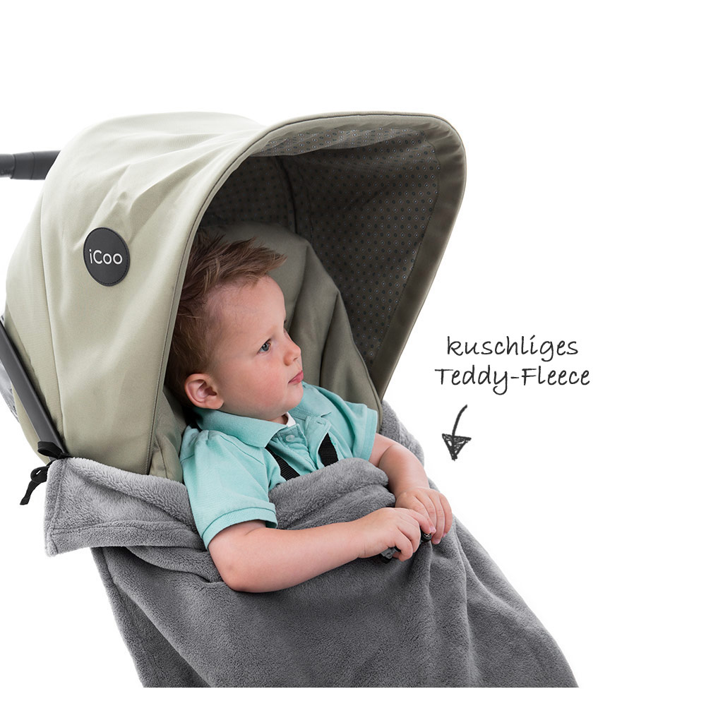 universal fleece baby decke f r kinderwagen buggy kinderwagendecke grau ebay. Black Bedroom Furniture Sets. Home Design Ideas