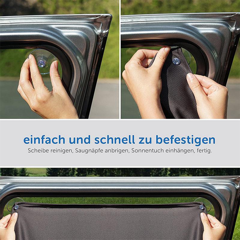 universal sonnenschutztuch sonnenblende auto seitenscheibe. Black Bedroom Furniture Sets. Home Design Ideas