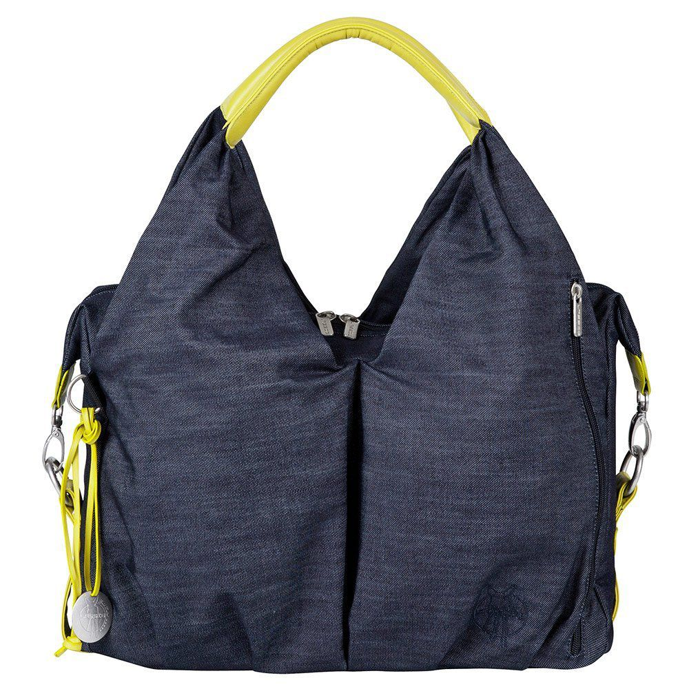 Lässig Wickeltasche Green Label Neckline Bag - Denim Blue