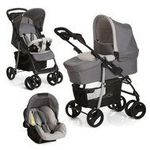 Hauck Kinderwagen-Set Shopper SLX Trio Set - Stone Grey