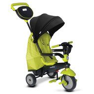Smart Trike Dreirad Swing DLX - 4 in 1 mit Touch Steering - Green