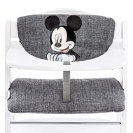 Highchair cushion & seat reducer - Disney Deluxe - Mickey Grey