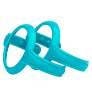 Trinklern-Griffe 2er Pack Easy Grip - Turquoise