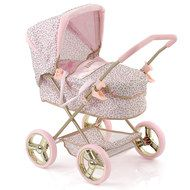 Hauck Toys for Kids Puppen-Kinderwagen Gini - Little Diva - Rosa Gold