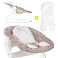 Newborn top & rocker for Alpha highchair - Bouncer 2in1 - Stretch Beige